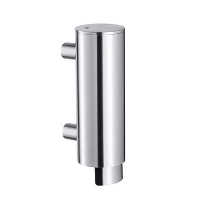 0302508 - Cylindrical Liquid Soap Dispenser - Stainless Steel