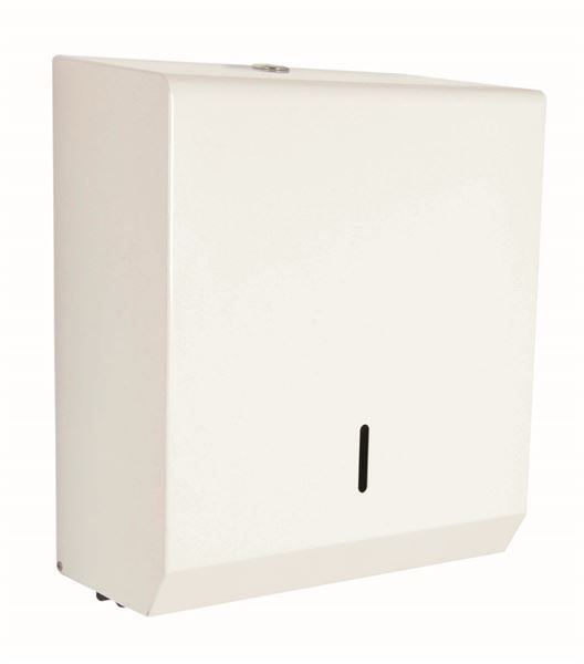 0302522 - Metal Paper Towel Dispenser - White