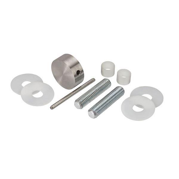 0182228 - Bolt Through Disc Set -Satin Stainless Steel