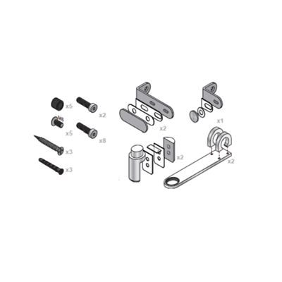 0333027 - Aqueous Wall-End In-Line Pilaster Pack