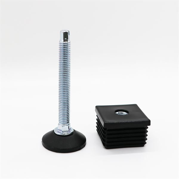 0150100N - LEVELING BENCH FOOT (SQUARE PROFILE BENCH LEGS)
