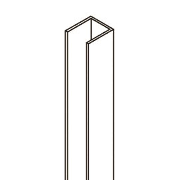 0340031 - 1850mm uPVC Channel - Cubicle Express